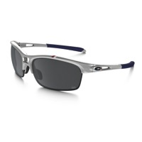 Oakley RPM Squared Womens Sunglasses - Silver/Black Iridium Lens