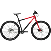All-City Log Lady Complete Bike - Red/Black/White