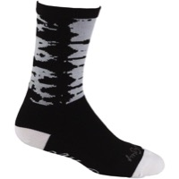 All-City Darker Wave Socks - Black/White