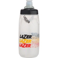 Lazer Water Bottle - Clear/Black/Yellow/Red
