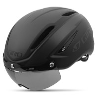 Giro Air Attack Shield Helmet 2017 - Matte Black/Gloss Black