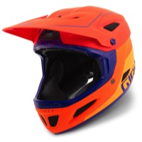 Giro Disciple MIPS Helmet 2017 - Matte Vermillion/Flame/Purple
