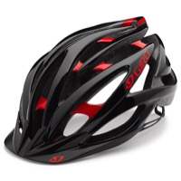 Giro Fathom Helmet 2017 - Bright Red/Black