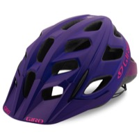 Giro Hex Helmet 2017 - Matte Purple/Bright Pink