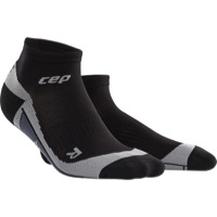 CEP Dynamic+ Cycle Low Cut Men's Socks - Black/Gray