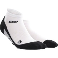 CEP Dynamic+ Cycle Low Cut Men's Socks - White/Black