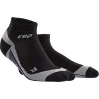 CEP Dynamic+ Cycle Low Cut Women's Socks - Black/Gray