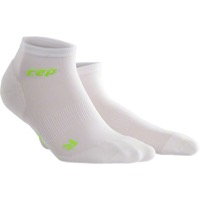 CEP Dynamic+ Cycle Ultralight Low Cut Men's Socks - White/Green