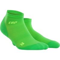 CEP Dynamic+ Cycle Ultralight Low Cut Women's Sock - Viper/Green