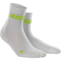 CEP Dynamic+ Cycle Ultralight Short Men's Socks - White/Green