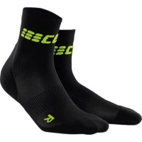 CEP Dynamic+ Cycle Ultralight Short Women's Socks - Black/Green