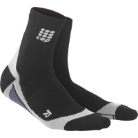 CEP Dynamic+ Cycle Short Men's Socks - Black/Gray