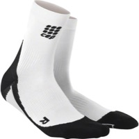 CEP Dynamic+ Cycle Short Men's Socks - White/Black