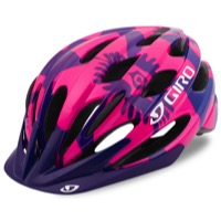 Giro Raze Youth Helmet 2017 - Berry/Blue Flowers