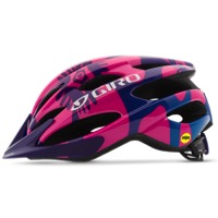 Giro Raze MIPS Youth Helmet 2017 - Berry/Blue Flowers