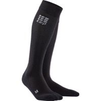 CEP Recovery+ Merino Wool Men's Socks - Black