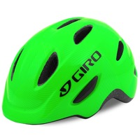 Giro Scamp Youth Helmet 2020 - Green/Lime Lines