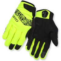 Giro Candela Women's Winter Gloves 2017 - Highlight Yellow/Black