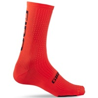 Giro HRc Team Socks 2020 - Vermillion/Black