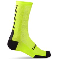 Giro HRc+ Merino Wool Socks 2020 - Bright Lime/Black