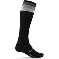 Giro Hightower Merino Wool Socks 2019 - Black/Grey Stripe