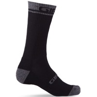 Giro Winter Merino Wool Socks 2020 - Black/Dark Shadow