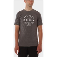 Giro Tech Tee 2017 - Warm Gray/Circle Mountain Logo