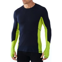 Smartwool Lightweight Long Sleeve Base Layer Top - Deep Navy