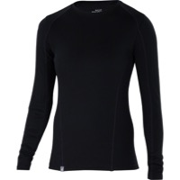 Ibex Woolies 2 Crew Long Sleeve Base Layer Top - Black
