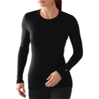 Smartwool Midweight Crew Long Sleeve Top - Black