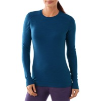 Smartwool Midweight Crew Long Sleeve Top - Glacial Blue Heather
