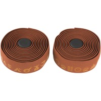 Salsa Glyph Gel Cork Bar Tape - Dark Brown