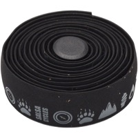 Salsa Glyph Gel Cork Bar Tape - Black