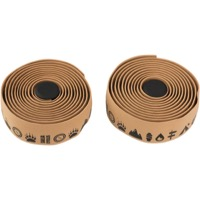 Salsa Glyph Gel Cork Bar Tape - Natural/Tan