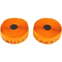 Salsa Glyph Gel Cork Bar Tape - Orange