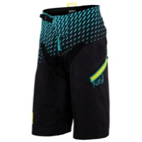 100% R-Core DH Shorts - Supra Black/Cyan