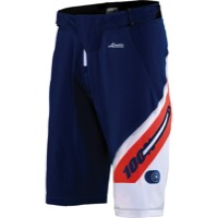100% Airmatic Men's Shorts w/Liner - Honor Navy