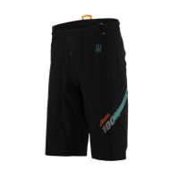 100% Airmatic Shorts - Fast Times Black
