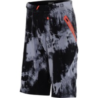 100% Celium AM Men's Shorts w/Liner - Tiedyed Black