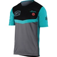 100% Airmatic Jersey - Fast Times Gray