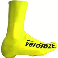 VeloToze Road Tall Shoe Covers - Viz-Yellow