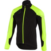 Louis Garneau Glaze RTR Men's Jacket - Black/Yellow