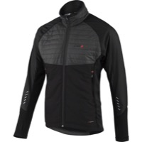 Louis Garneau Cove Hybrid Men's Jacket - Black/Gray