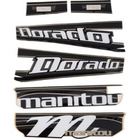 Manitou Dorado Pro Decal Kit