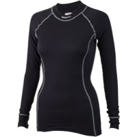 Craft Active Women's Crewneck Long Sleeve Top - Black