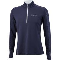 Craft Facile Men's Embossed Halfzip - Blue