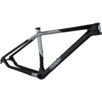 Foundry Firetower 29er Carbon Mountain Frame - Black/Silver