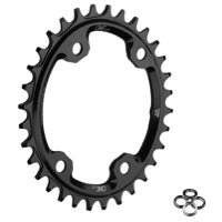 OneUp Shimano XT M8000 Oval Chainrings - 96mm Asym BCD