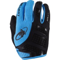 Lizard Skins Monitor SL Gloves - Jet Black/Electric Blue