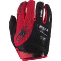 Lizard Skins Monitor SL Gloves - Jet Black/Crimson
